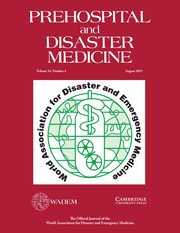 Prehospital and Disaster Medicine Volume 34 - Issue 4 -