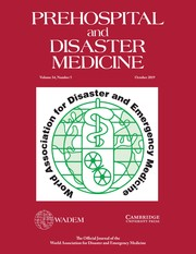 Prehospital and Disaster Medicine Volume 34 - Issue 5 -