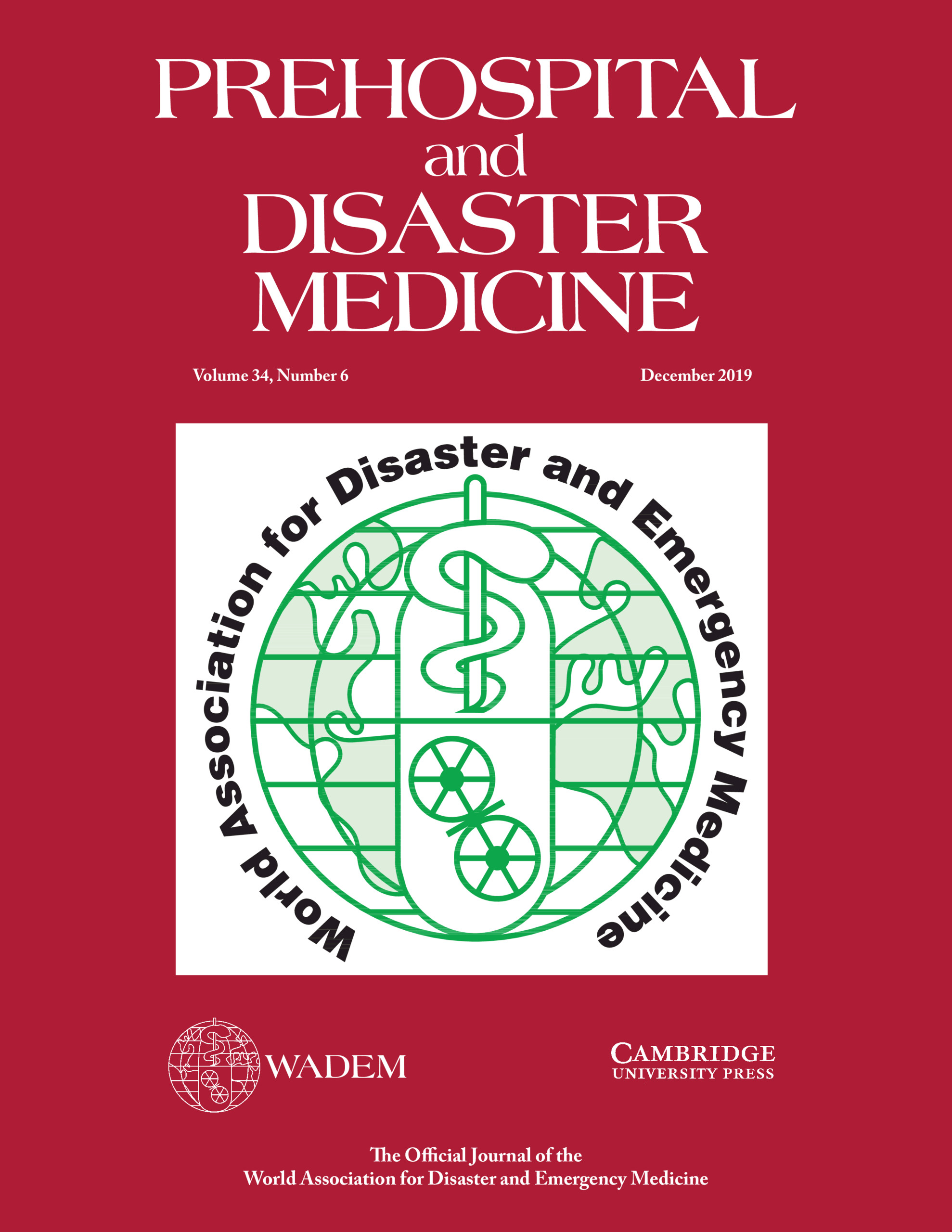 Prehospital and Disaster Medicine | Latest issue | Cambridge