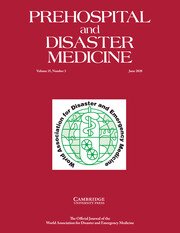 Prehospital and Disaster Medicine Volume 35 - Issue 3 -