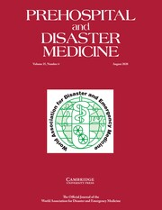 Prehospital and Disaster Medicine Volume 35 - Issue 4 -