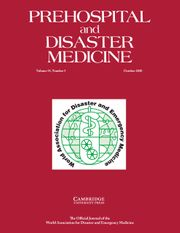 Prehospital and Disaster Medicine Volume 35 - Issue 5 -