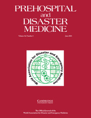 Prehospital and Disaster Medicine Volume 36 - Issue 3 -