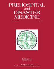 Prehospital and Disaster Medicine Volume 36 - Issue 4 -