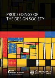 Proceedings of the Design Society
