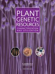 Plant Genetic Resources Volume 12 - Issue 3 -