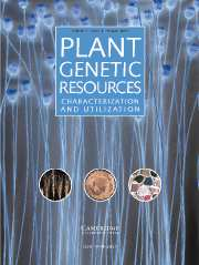 Plant Genetic Resources Volume 5 - Issue 2 -