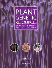Plant Genetic Resources Volume 9 - Issue 4 -