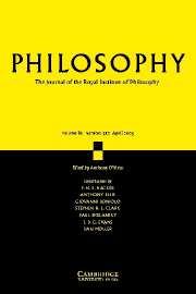 Philosophy Volume 80 - Issue 2 -