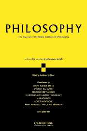 Philosophy Volume 83 - Issue 1 -