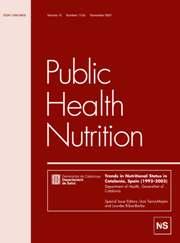 Public Health Nutrition Volume 10 - Issue 11 -