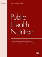 Public Health Nutrition Volume 11 - Issue 5 -