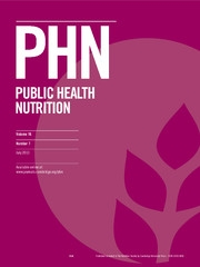 Public Health Nutrition Volume 16 - Issue 7 -