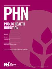 Public Health Nutrition Volume 18 - Issue 13 -  Sustainability and Public Health Nutrition