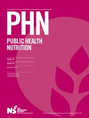 Public Health Nutrition Volume 19 - Issue 18 -