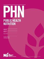 Public Health Nutrition Volume 23 - Issue 12 -