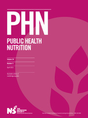 Public Health Nutrition Volume 24 - Issue 5 -