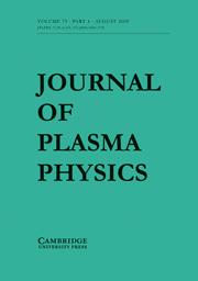 Journal of Plasma Physics Volume 75 - Issue 4 -
