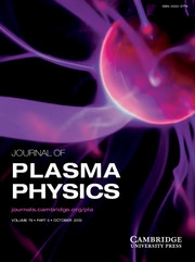 Journal of Plasma Physics Volume 79 - Issue 5 -