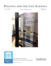 Politics and the Life Sciences Volume 39 - Issue 1 -