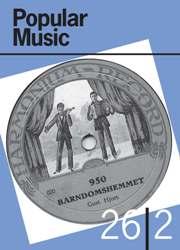 Popular Music Volume 26 - Issue 2 -