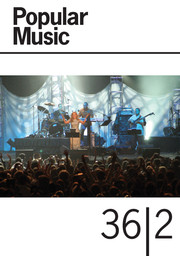 Popular Music Volume 36 - Issue 2 -