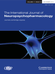 The International Journal of Neuropsychopharmacology