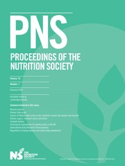Proceedings of the Nutrition Society Volume 79 - Issue 1 -