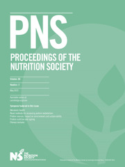 Proceedings of the Nutrition Society Volume 80 - Issue 2 -