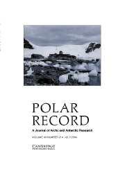 Polar Record Volume 40 - Issue 3 -