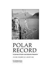 Polar Record Volume 45 - Issue 1 -