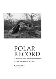 Polar Record Volume 46 - Issue 3 -