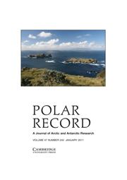 Polar Record Volume 47 - Issue 1 -