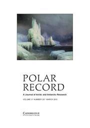Polar Record Volume 51 - Issue 2 -