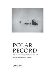 Polar Record Volume 53 - Issue 4 -