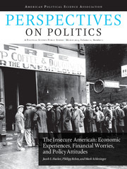 Perspectives on Politics Volume 11 - Issue 1 -