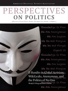 Perspectives on Politics Volume 11 - Issue 4 -