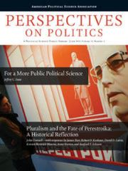 Perspectives on Politics Volume 13 - Issue 2 -