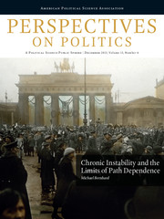 Perspectives on Politics Volume 13 - Issue 4 -