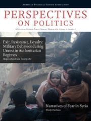 Perspectives on Politics Volume 14 - Issue 1 -