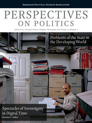 Perspectives on Politics Volume 15 - Issue 4 -