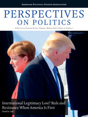 Perspectives on Politics Volume 16 - Issue 1 -