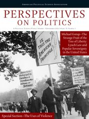 Perspectives on Politics Volume 18 - Issue 3 -