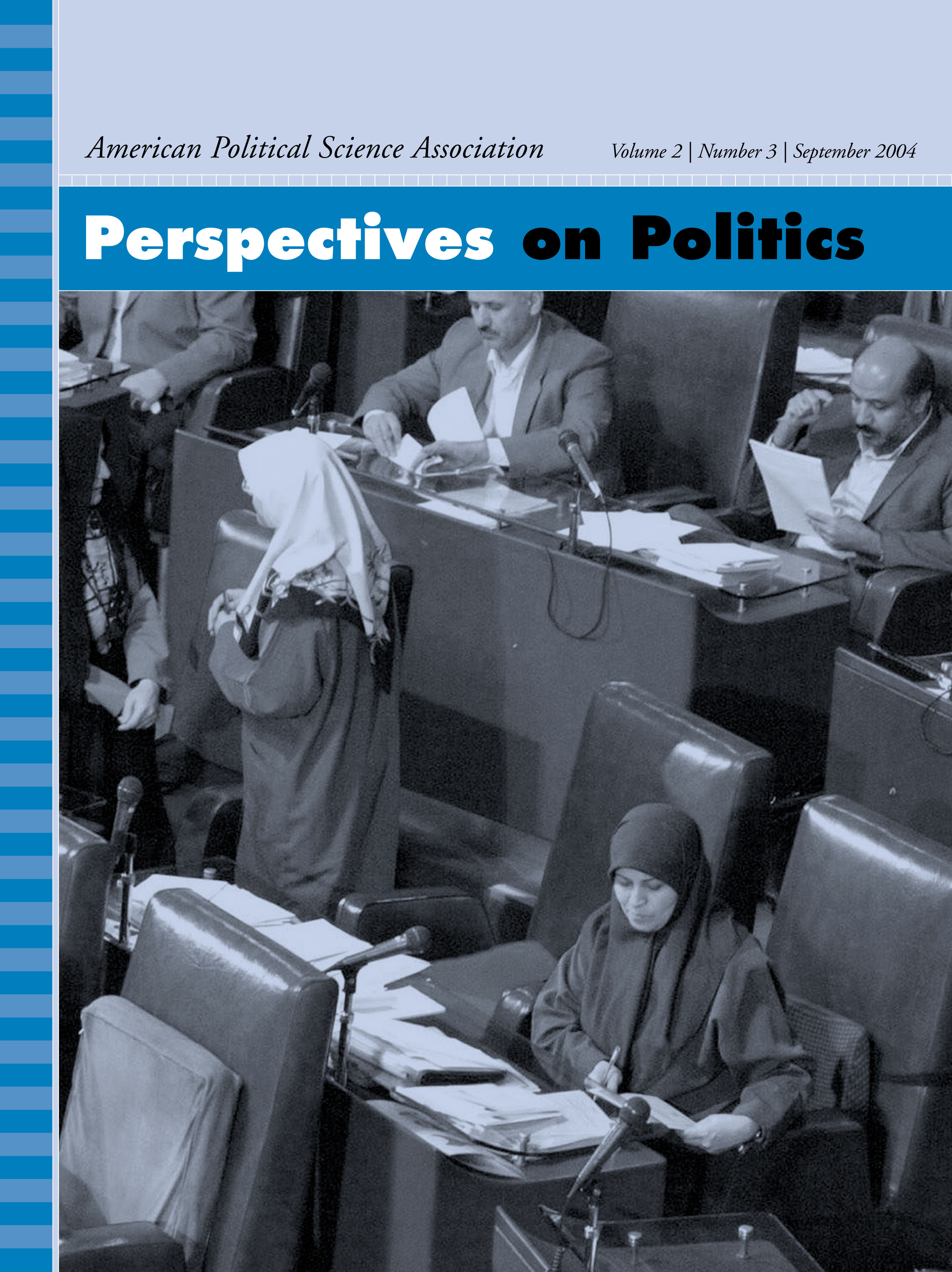 Perspectives on Politics Volume 2 - Issue 3 -