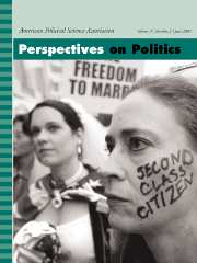Perspectives on Politics Volume 3 - Issue 2 -