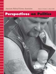 Perspectives on Politics Volume 6 - Issue 1 -