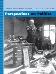 Perspectives on Politics Volume 6 - Issue 3 -