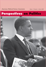Perspectives on Politics Volume 7 - Issue 1 -