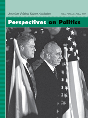 Perspectives on Politics Volume 7 - Issue 2 -