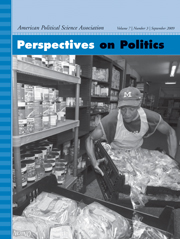 Perspectives on Politics Volume 7 - Issue 3 -